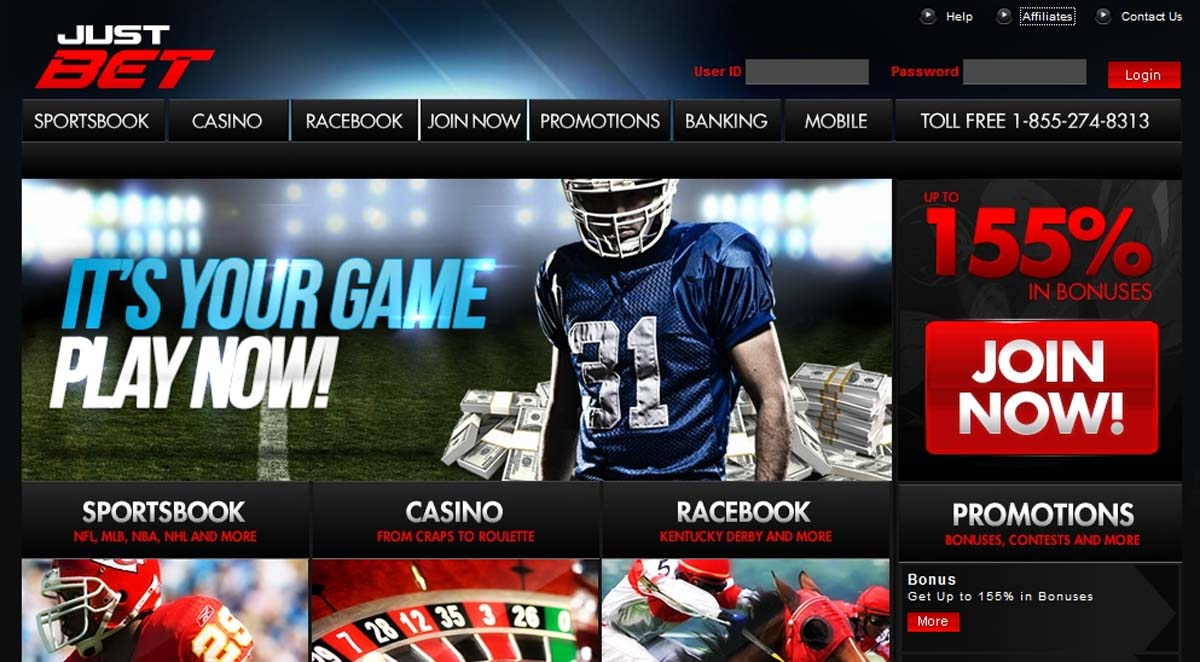 3_Justbet-Homepage